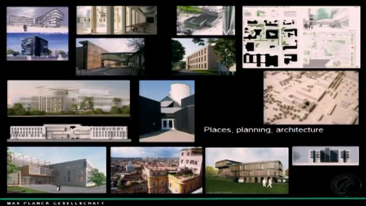 Building for Science. Projects of the Max Planck Society