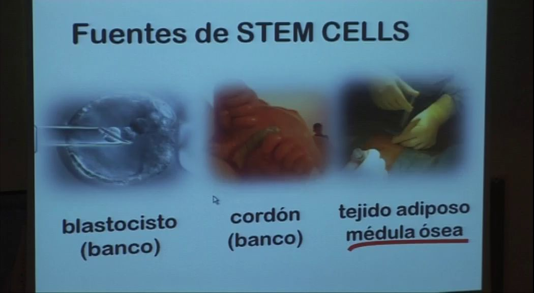Jornada UNISTEM. 'Stem cells in the sport of elite'